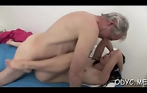 Moisture old and young action here heavy dude banging hot chick