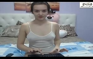 Petite Teen'_s Playful Keep to Cam Impersonate 1