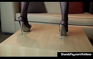 Intercourse Crazed Cougar Shanda Fay Gets a Big Hard Dick From Hubby