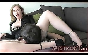 Mistress T win over daughter how to treat slit