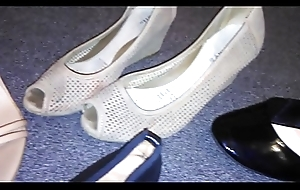 Stolen heels flats wedges elsewhere my titillating asian neighbor (Veronica)