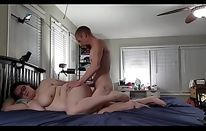 Bbw huge tit wife screwed and creampied 4