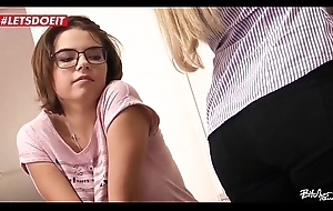 LETSDOEIT - Czech Couple Abuse a Legal age teenager Stranger (Barra Brass &_ Mara Visconti)