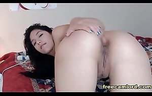 Midget Horny Latin chick Shows How Everywhere Be Naughty Live