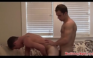 Taking scally punk bent over and screwed