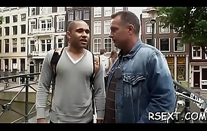 Horny chap pays a hot hustler be advisable for some unadulterated hardcore fun